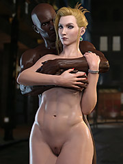 Scarlet tries a huge black cock - Final Fantasy by Nordfantasy