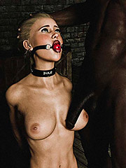 Katie will suffer, she will whimper, and she will and scream - Black master (fansadox album 15) by 3D Perversion